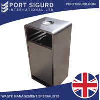 Elegant Park Rubbish Can [Stainless Steel] [FREE SHIPPING] thumbnail image