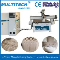 China best price3d disk tool change ATC mini 1325 CNC wood router machine with high quality