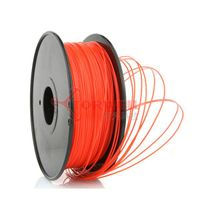 PLA-1.75mm-1kg/spool-Fluorescent Red