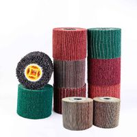 China surface conditioning abrasive wheel roller,factory supply non-woven abrasive wheel thumbnail image