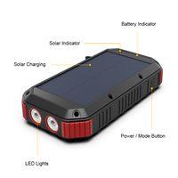 PhoneMust Waterproof 30000mAh Solar Power Bank with Flashlight 983S thumbnail image