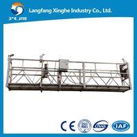 Xinghe suspended platform , zlp630 elevator cradle , zlp800 gondola platform