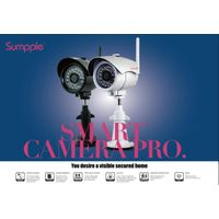 S631 Bullet outdoor IP camera HD 720P waterproof