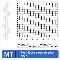 Twill Dutch weave wire cloth thumbnail image