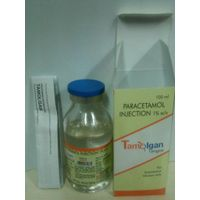 Paracetamol Injection 1% w/v in 50ml & 100ml (Tamolgan)