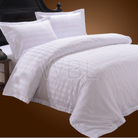 100% Cotton stripe bedding set sheet manufacture bed sheets cotton bedding for school