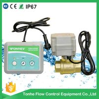 2016 water leak detector shut off valve with electric valve for sale