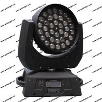 10w 36 led moving head wash with ZOOM effect 4in1 led