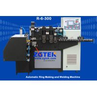 Auto ring making and welding integrated machine