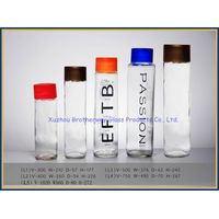 wholesale fancy round voss glass bottles for mineral water
