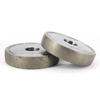 Metal bond round edge diamond grinding wheels thumbnail image