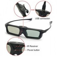 DOMO nHance AS20i USB Active Shutter Infrared 3D Glasses thumbnail image
