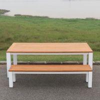 Stonington patio/outdoor bamboo bench
