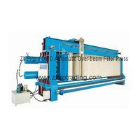 Filter press Zhengpu DIBO Automatic Over-beam Filter Press