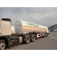semi-trailer for LIN/LOX/LAR/LCO2/LNG