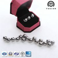 China Factory Yusion Free Samples 4.7625mm - 150mm 52100 Bearing Ball (G10-G600) thumbnail image