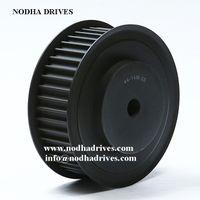 Timing belt pulley HTD14M synchronizing wheel thumbnail image