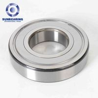 Precision Maintenance Free Bearing 2Z Deep Groove Ball Bearing 6317
