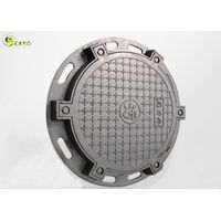 Sewage Ductile Iron Casting Manhole Cover Round Trench Drain Grating Cover thumbnail image