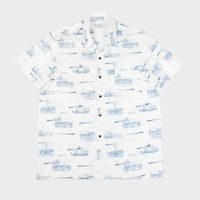 Casual Shirts for Men : JOSEON RETRO SUMMER SHIRTS classic fit with good room for movement thumbnail image