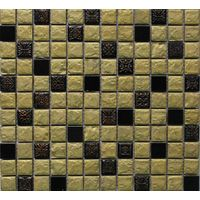 Sell Resin Mixed Stainless Steel Mosaic Tile thumbnail image