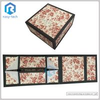 Wholesale Folding Rigid Paper Packaging Gift Box Custom Printed Magnetic Jewelry Gift Box