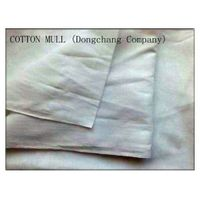 white cotton mull