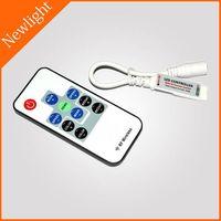 10 keys min RGB RF LED Controller 12A DC 5V-24V thumbnail image