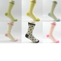 Glass yarn lurex crew socks,Polyamide socks,fashion sock,fashion apparel,women's socks