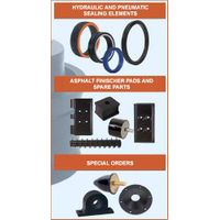 All kinds of spares for Concrete Pumps