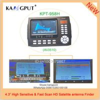 KPT958H Digital cable TV modulator dvb s2 hd receiver satellite finder meter