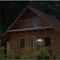 Solar Light LED Address Sign Wall Light House Number Door Plate Waterproof Outdoor Garden Home Light thumbnail image