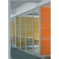 Aluminum wall partition