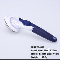 New design BBQ steam grill cleaning brush