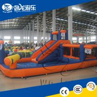 inflatable jumping slide, commercial inflatable sports game