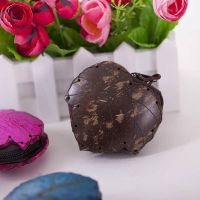 Coconut shell Coin Purse bag