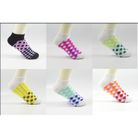 TC/Cotton sock,low show socks,women's socks,jacquard socks,fashion socks,sports sock thumbnail image