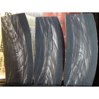 Horn Plates Black With White Streaks
