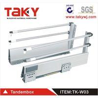 TK-W03 full extension drawer runners&center undermount drawer slides thumbnail image