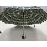 21 inch 3 fold auto lattice umbrella