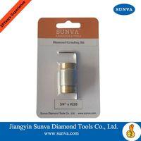 SUNVA Diamond Grinding Bits / Diamond Tools / Diamond Core Bit/Stone Drill Bit thumbnail image