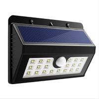 200 Lumen Waterproof Outdoor Garden Light 20 led Motion Sensor Light, Solar Light