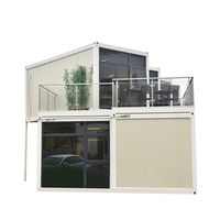China Manufacturer flatpack 20ft container house in ghana