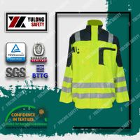 Xinxiang Yulong Textile co.,Ltd T/C HI-VIS workwear high visibility workwear