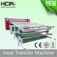 New Automatic Touch Screen Roller Heat Transfer Machine