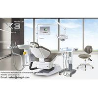 China Cingol humanized implanting dental unit X3 of mobile car