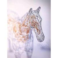 Customized Modern Large Metal Horse Sculpture thumbnail image