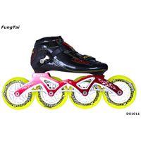 Roller Inline Skate 110mm Wheels Speed Shoes for Men Women (DS1011)