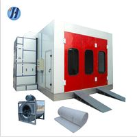 2019 Best selling electric heating spray booth with environmental system