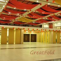 Good Quality Design Decorative Movable Partition Wall For Art Gallery/dance Studio thumbnail image
